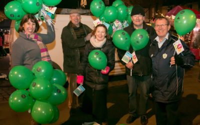 Wilton Christmas Lights have been switched on